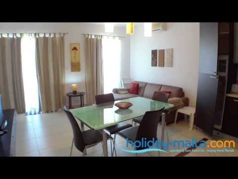 Malta Apartment Rentals, Modern apartments to rent, to let, (Holiday-Malta.com E040)