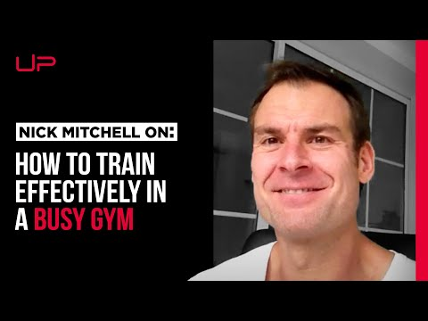 An Effective Way To Train In a Busy Gym