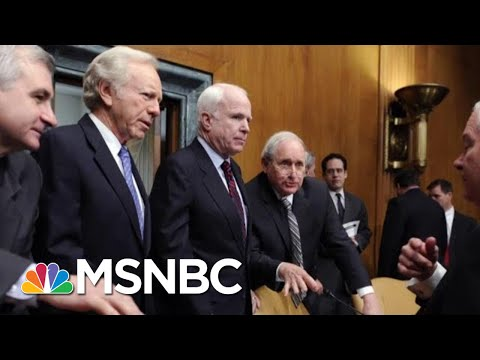 Ron Reagan Says 'John McCain Was Everything President Donald Trump Wasn't' | Hardball | MSNBC