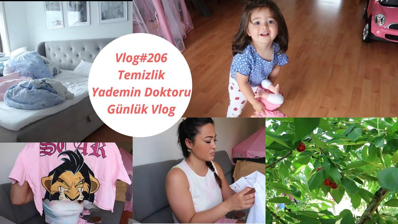 Vlog#206 / TEMIZLIK MOTIVASYONU / ALMANYADA KIRAZ TARLASI VE FIYATI / KIYAFET ALISVERISIM / #VLOG