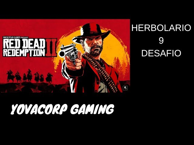 Red Dead Redemption 2-Herbolario 9 (Desafio) Explicacion facil