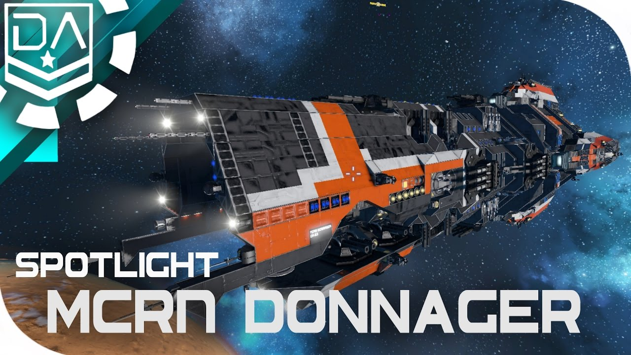 Space Engineers Spotlight | 'MCRN Donnager' By Wildcard ...