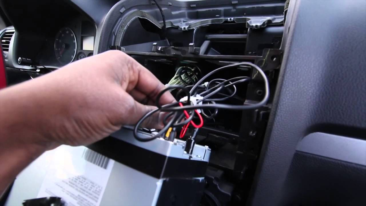 mitsubishi car stereo wiring diagram ansul system electrical how to install reverse camera - youtube