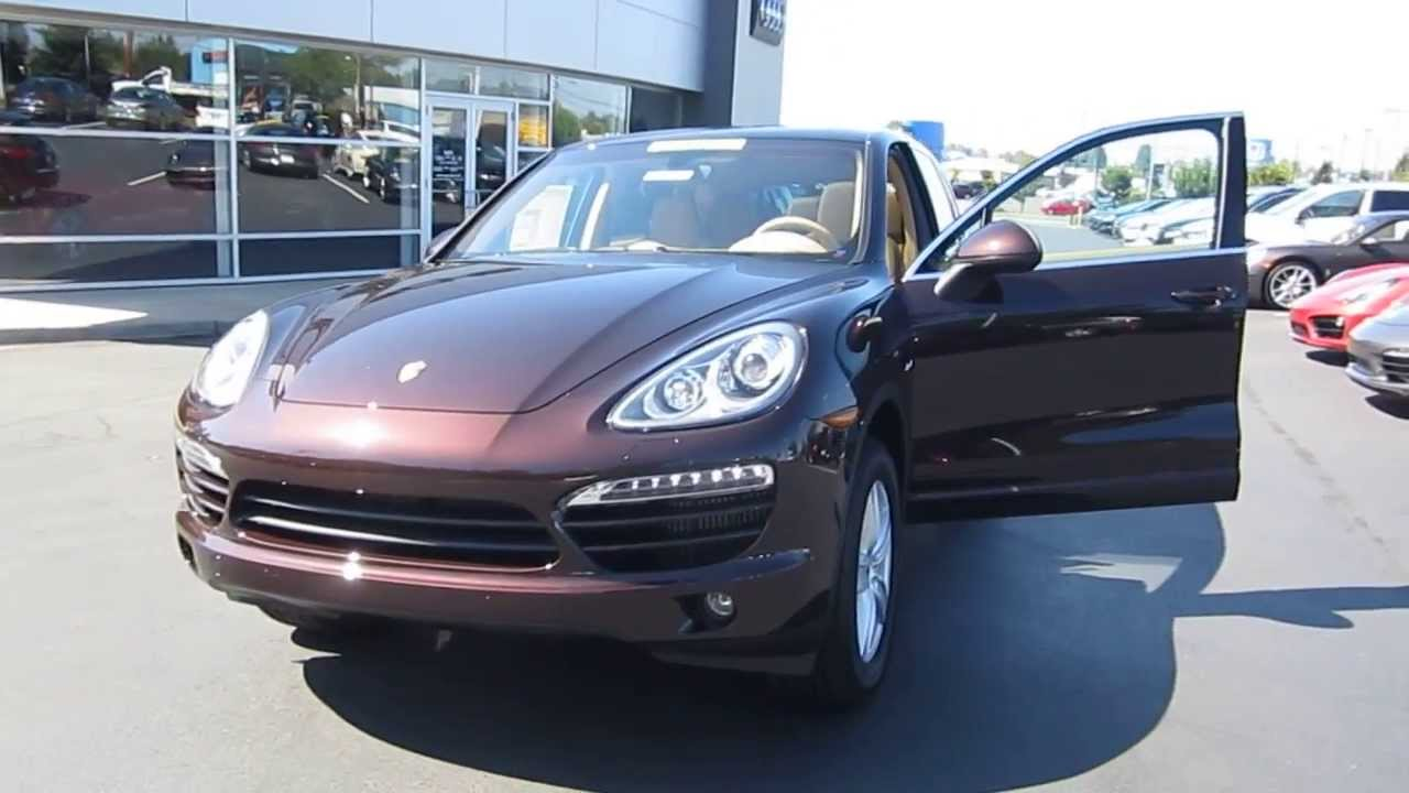 2014 Porsche Cayenne Mahogany Stock 109543 Youtube