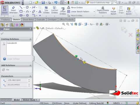 Dimensioning Flat Pattern Of A Cone Youtube