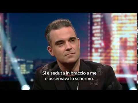 Robbie Williams - Entrevista en E poi c'è Cattelan, Italia