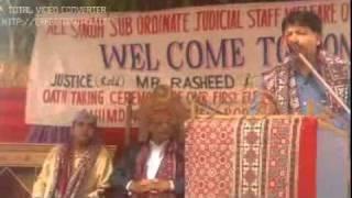 District Malir Court No 10 ASSJSWO Speech of Mr  Eijaz Mohammad Bangash President of Malir Bar, 05 0