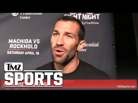 UFC's Luke Rockhold -- Steven Seagal Wrecked Me ... With 'Death Touch'