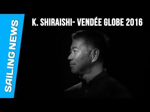Kojiro Shiraishi, Vendée Globe 2016/2017.
