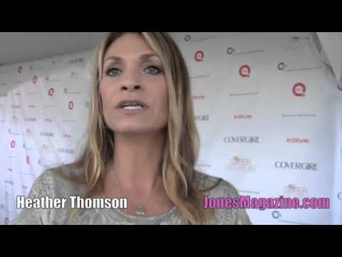 Former House of Dereon Creative Director, Yummie Tummie founder Heather Thomson (Real Housewife)