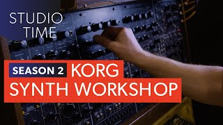 korg synthesizer workshop   studio time s2e8