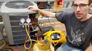How to reclaim refrigerant