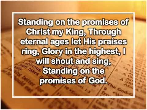 Standing on the promises 4stanza