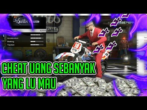 Cheat Uang Gta 5 Online Terbaru Bahasa Indonesia | Part 2 | isi uangnya seenak jidat loooo !!!!! |