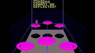 Arcade Game: Discs of Tron (1983 Midway/Walt Disney Co.)