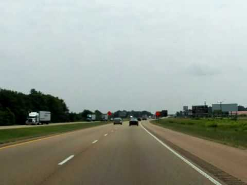 Little Rock To Memphis Tn Interstate 40 Drivelapse Youtube