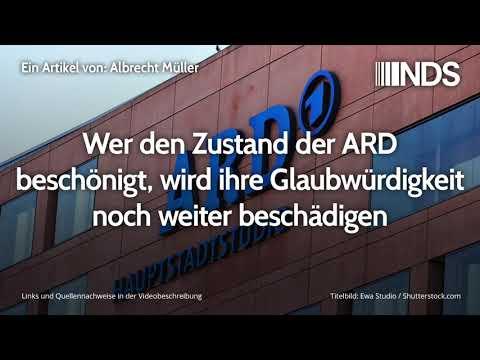 Wer den Zustand der ARD beschönigt, wird ihre Glaubwürdigkeit noch weiter beschädigen
