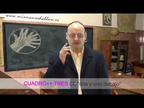Uso de CLASIFICADORES GRAMÁTICA Parte 3 - LENGUA DE SIGNOS ESPAÑOLA - LSE