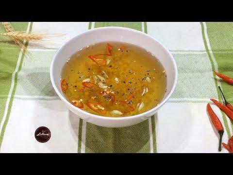 Công thức pha nước chấm nem bất bại   The Perfect Sauce Recipe for Vietnamese Spring Roll   Eng Sub
