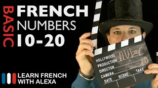 How to count from 10 to 20 in French!