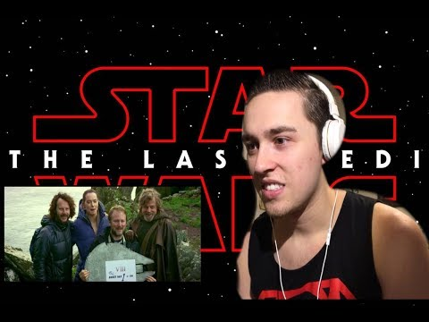 D23 STAR WARS: The Last Jedi Behind the Scenes Video Reaction. Watch me tear up!!