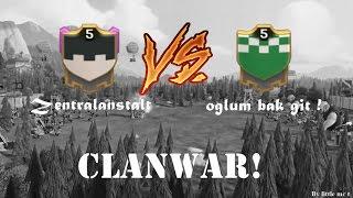[CLANWAR] Zentralanstalt vs. oglum bak git ! - Clash of Clans | little mc t
