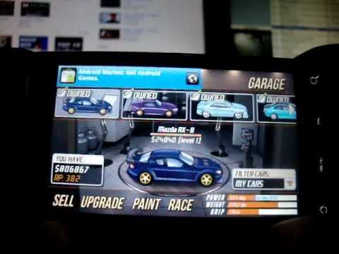 android drag racing level 1 1 4 mile mazda rx 8 with. Black Bedroom Furniture Sets. Home Design Ideas