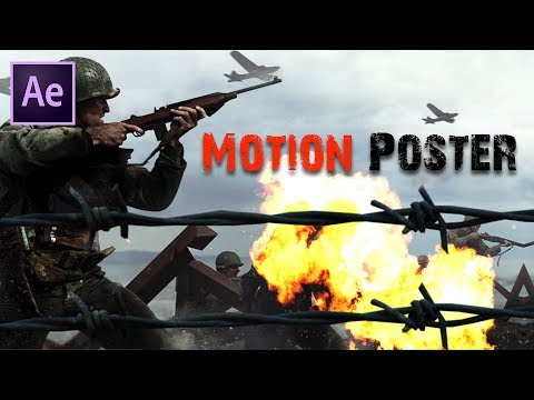 3D Motion Poster in After Effects   After Effects Tutorial   Effect for you