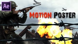 3D Motion Poster in After Effects | After Effects Tutorial | Effect for you