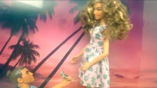 Barbie and ken videos- ken asks Barbie to marry him - ken proposed to Barbie - brown barbie