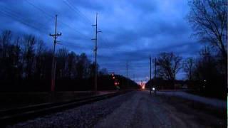 Amtrak Michigan at Speed: Nighttime Wolverine