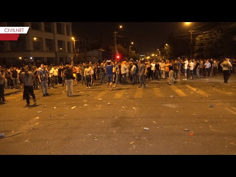 New Clashes in Yerevan and Dozens of Injured