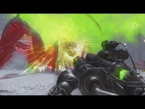 Extinction Nightfall SOLO Gameplay Walkthrough BOSS Breeder - Call Of Duty Ghosts Onslaught