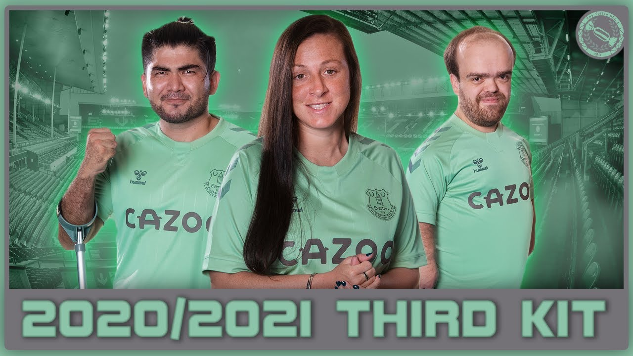 Everton Launch New 2020 2021 Third Kit Youtube