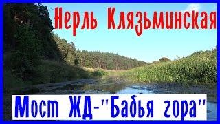Нерль Клязьминская. Водный поход. Одиночный сплав по реке Нерль (часть2)