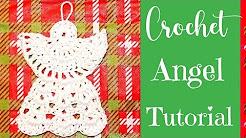 Crochet Angel Ornament Tutorial - Crochet Jewel