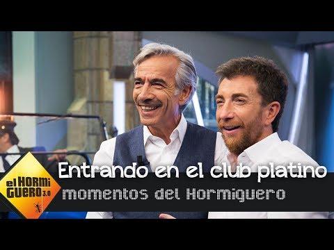 Imanol Arias, el tercer afortunado que entra en el Club Platino - El Hormiguero 3.0