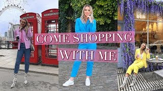 COME SHOPPING WITH ME IN LONDON - TOPSHOP, H&M, RESERVED, ZARA | 2018