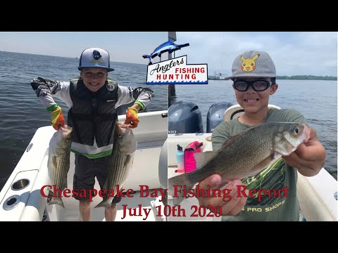 Chesapeake Bay Fishing Report: July 10th 2020