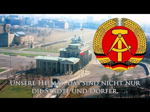 East German Patriotic Song Unsere Heimat Youtube