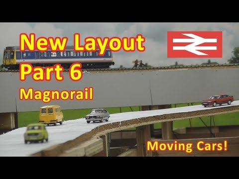 New Layout Build - Magnorail