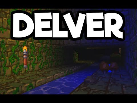 Delver Gameplay Impressions 2018 - Dungeon Diving RPG Action!