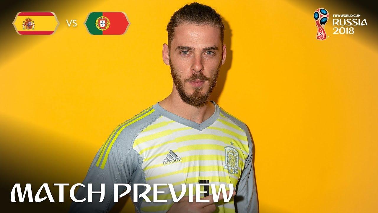 1dd129c11ef David De Gea (Spain) - Match 3 Preview - 2018 FIFA World Cup™ - YouTube