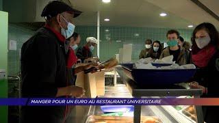 Yvelines | Manger pour un euro au restaurant universitaire