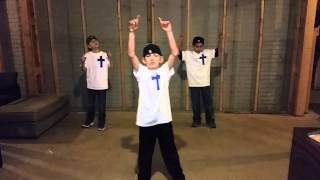 Flame-Eli,Gabe,Charles 2015 talent show tryouts