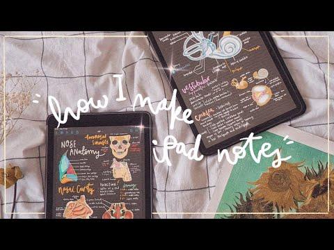 🌻 how I make pretty iPad notes (2020) 🖊️