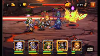 Heroes Charge: Burning Phoenix VI Team 10