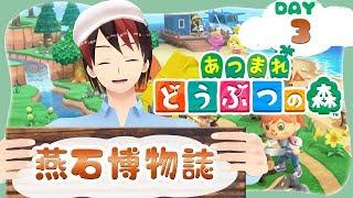 【DAY3】燕石博物誌【あつまれどうぶつの森】