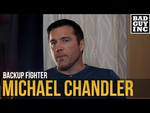 Backup Fighter: Michael Chandler