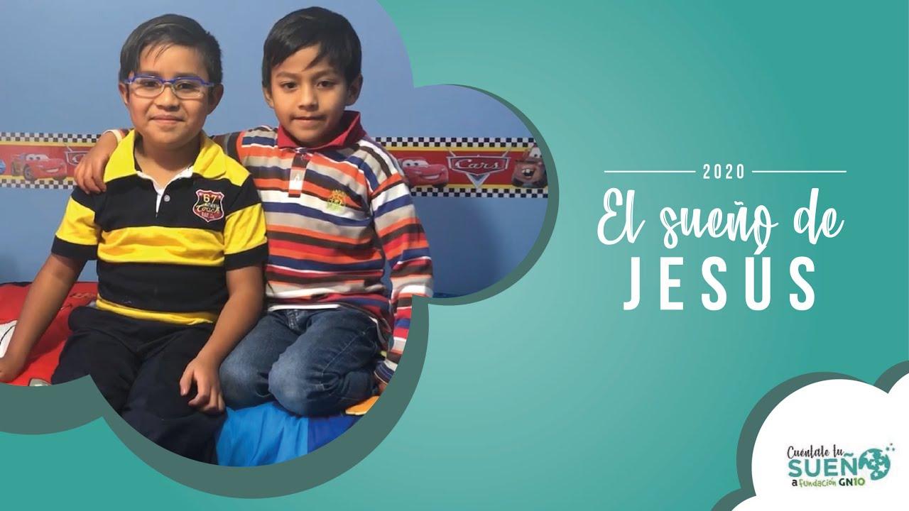 Jesús cumplió su sueño y el de su hermanito